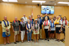 Marco Island National-Boating-Week-PIcture -Reciving Proclamation 2021