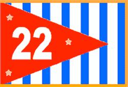 D22 Burgee