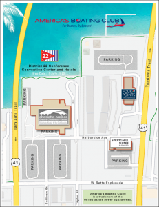 D22 Conference Area Map
